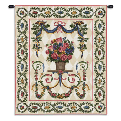 Floral Majesty Wall Tapestry
