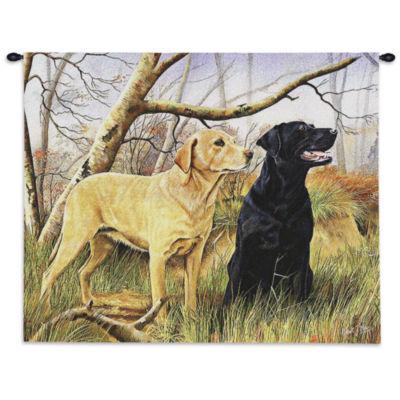 Labrador Retrievers Wall Tapestry
