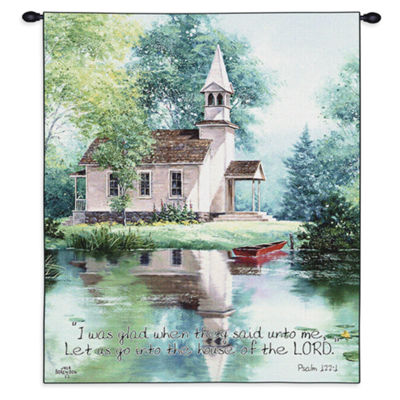 Lakeside Scripture Wall Tapestry