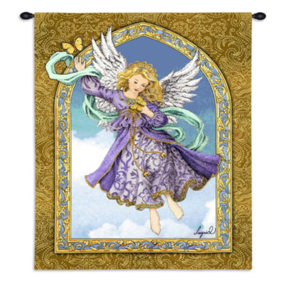 Lavender Angel Wall Tapestry