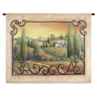 Visions Of Tuscany Wall Tapestry