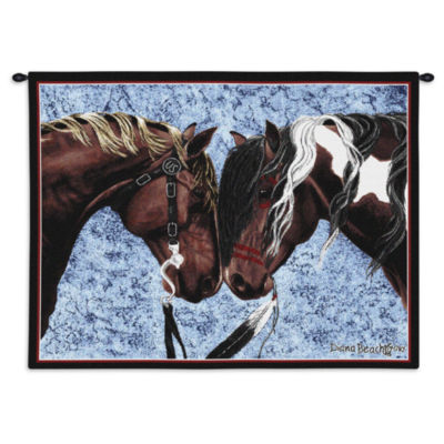 Warriors Truce Wall Tapestry
