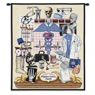 Hippocratic Oath Wall Tapestry
