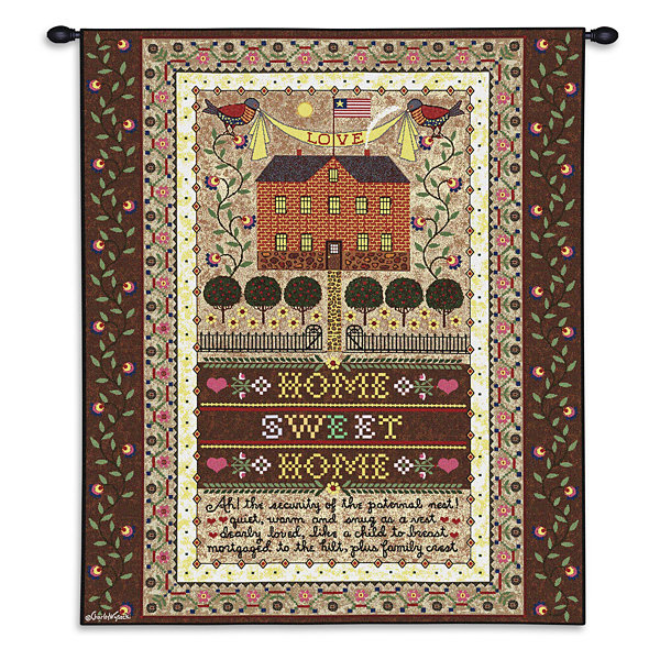 Home Sweet Home Wall Tapestry