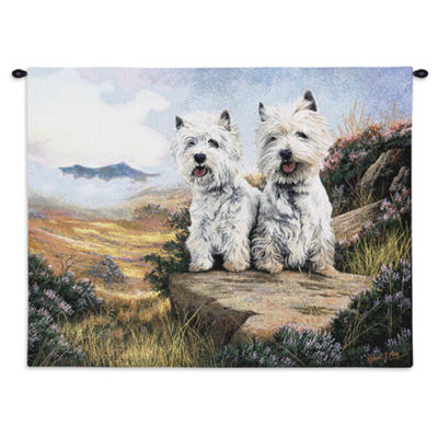West Highland White Terrier 2 Wall Tapestry