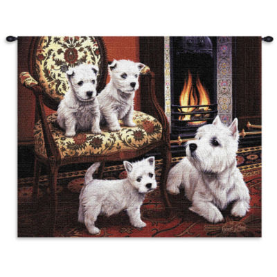 West Highland White Terrier Wall Tapestry