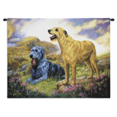 Irish Wolfhound Wall Tapestry