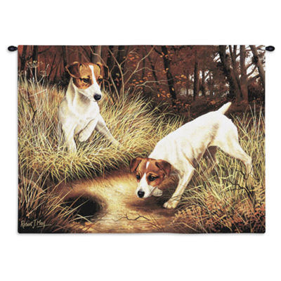 Jack Russell Terrier Wall Tapestry