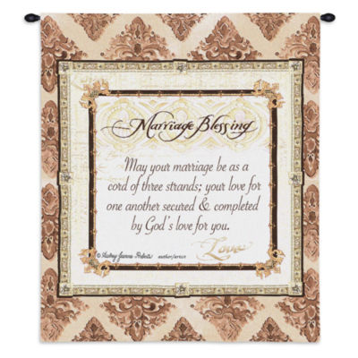 Your Marriage Blessing Wall Tapestry