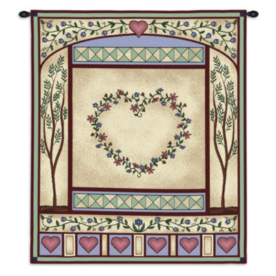 Love Quilt II Wall Tapestry