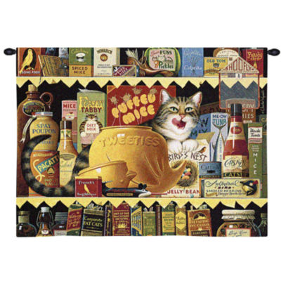 Ethel the Gourmet Wall Tapestry