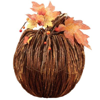 Design Imports Large Twig Pumpkin