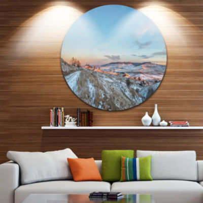 Design Art Stavropol Region North Caucasus Landscape Print Wall Artwork