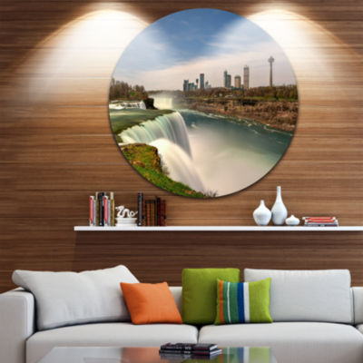 Design Art American Falls at Niagara Falls Extra Large Wall Art Landscape