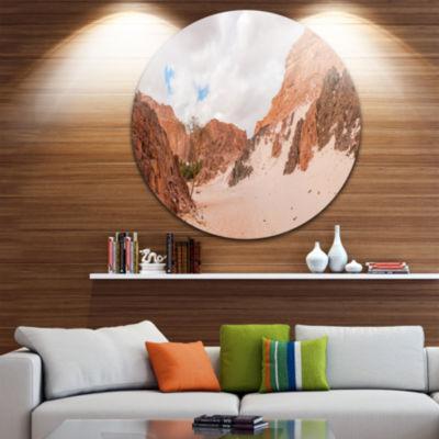 Design Art Fantastic Panorama of White Canyon Extra Large Wall Art Landscape