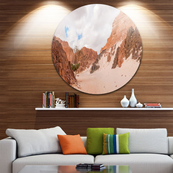 Design Art Fantastic Panorama of White Canyon Extra Large Wall Art Landscape