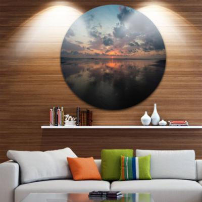 Design Art Matapalo in Costa Rica Beach Sunset Extra Large Seascape Metal Wall Decor