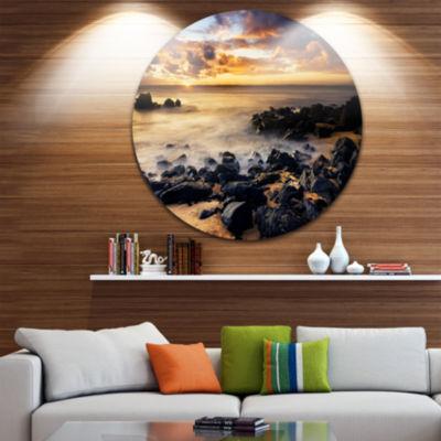 Design Art Beautiful Sunset at Philip Island ExtraLarge Wall Art Landscape
