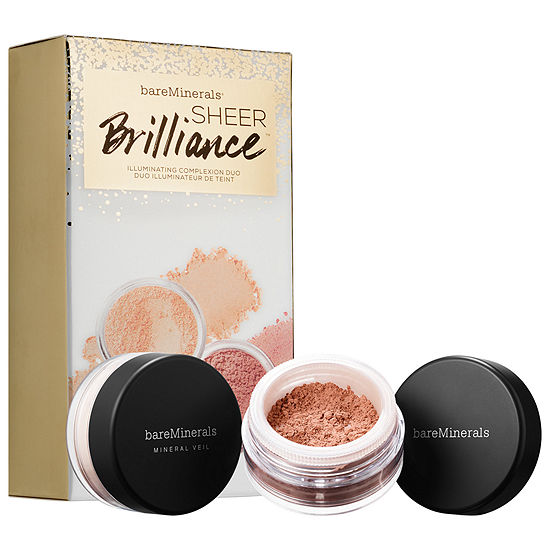 bareMinerals Sheer Brilliance Highlighting Complexion Duo