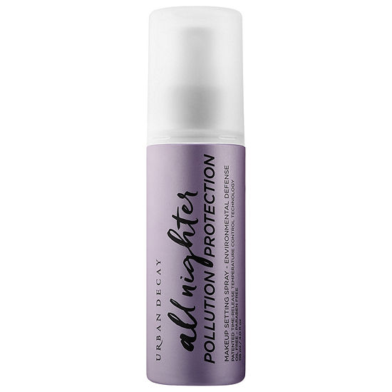 Urban Decay All Nighter Pollution Protection Makeup Setting Spray Environmental Defense