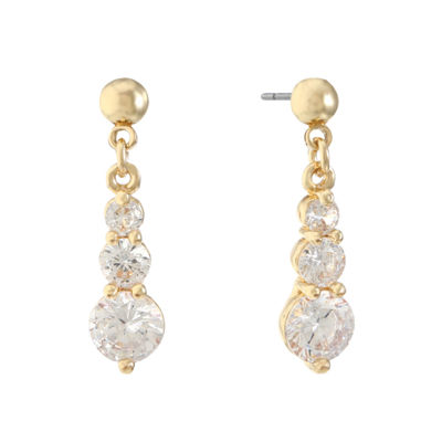 Gloria Vanderbilt 1 1/2 Inch Stud Earrings