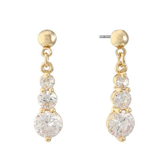 Gloria Vanderbilt 1 1/2 Inch Stud Earrings