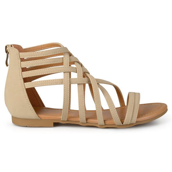 Journee Collection Hanni Womens Gladiator Sandals Wide