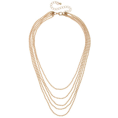 Decree Womens Strand Necklace