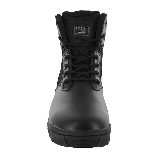 Magnum Stealth Force 6.0 Mens Side-Zip Mid-Top Work Boots