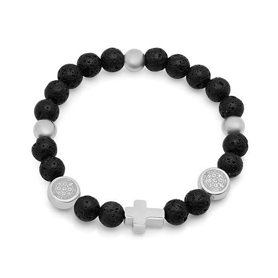 Steeltime Beaded Bracelet