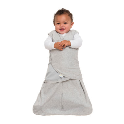 HALO SleepSack Swaddle 100% Cotton - Heather Gray