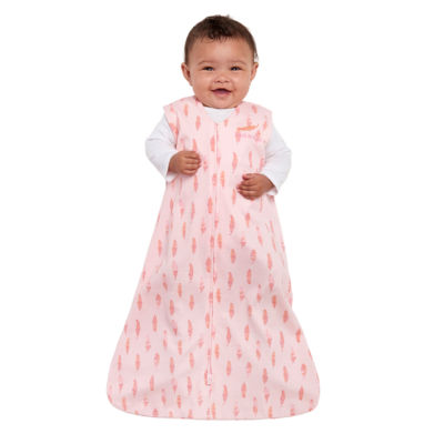 HALO SleepSack Wearable Blanket 100% Cotton - Feather Pink