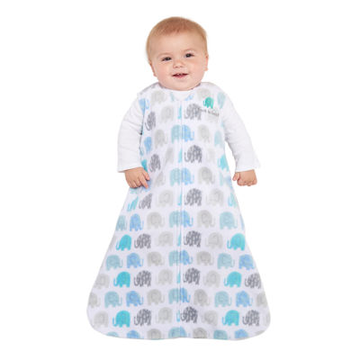 HALO SleepSack Wearable Blanket Microfleece - Elephant Texture