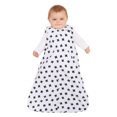 HALO SleepSack Wearable Blanket Microfleece - B/W Plus Signs