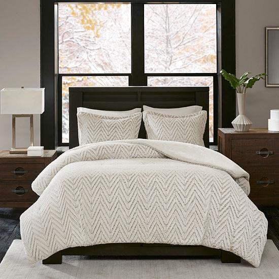 Madison Park Adelyn Ultra Plush Down Alternative Comforter Set