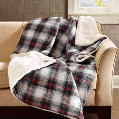 Woolrich Ridley Softspun Down Alternative Throw