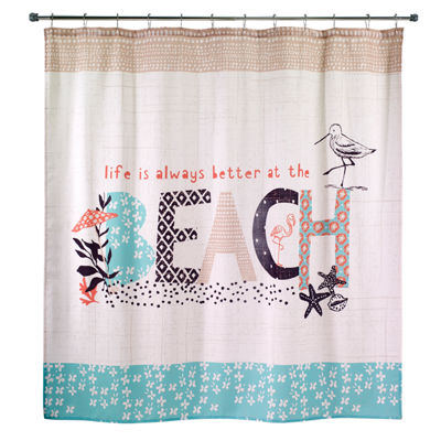 Avanti Beach Life Shower Curtain