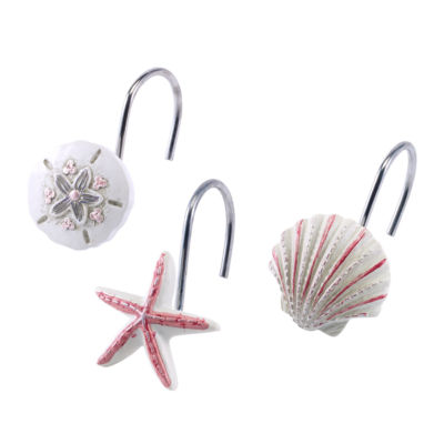 Avanti Coronado Shower Curtain Hooks