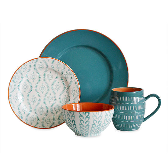 Baum 16-pc. Dinnerware Set