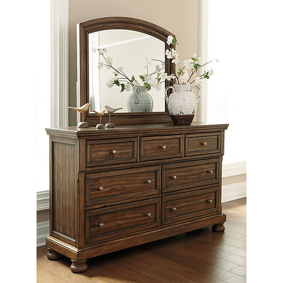 Signature Design by Ashley® Prestonwood Dresser and Mirror
