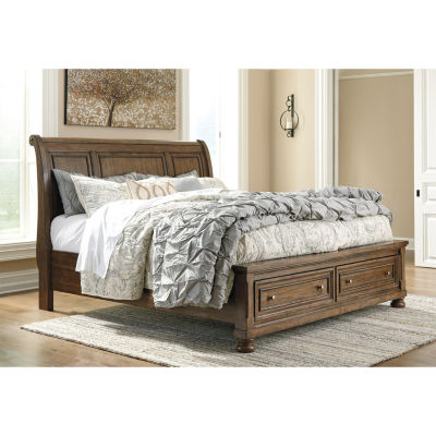 Signature Design by Ashley® Prestonwood Sleigh Storage Bed