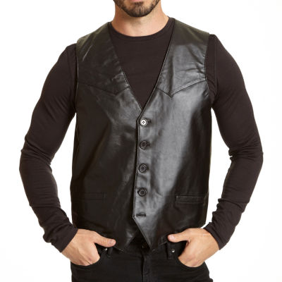 Excelled® Lambskin Leather Vest