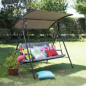 Corliving Nantucket Patio Swing With Arched Canopy Jcpenney