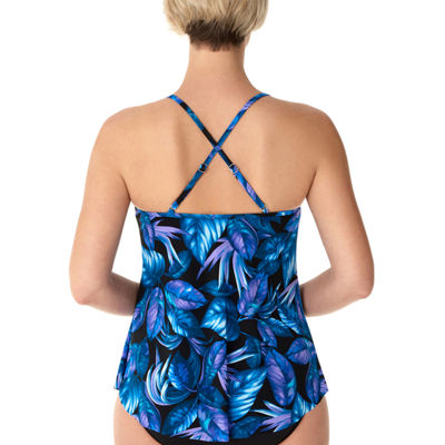 Vanishing Act By Magic Brands Leaf Tankini Swimsuit Top or Swimsuit Bottom