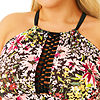 Allure By Img Floral Tankini Swimsuit Top or Swimsuit Bottom-Juniors Plus