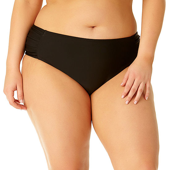 Allure By Img High Waist Swimsuit Bottom Juniors Plus