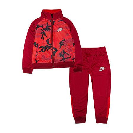 Nike Toddler Boys 2-pc. Pant Set, 3t , Red