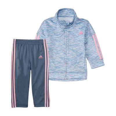 adidas 2-pc. Pattern Pant Set Girls Plus