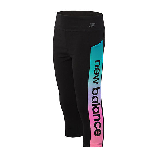 New Balance Stretch Capri Leggings -  Preschool Girls