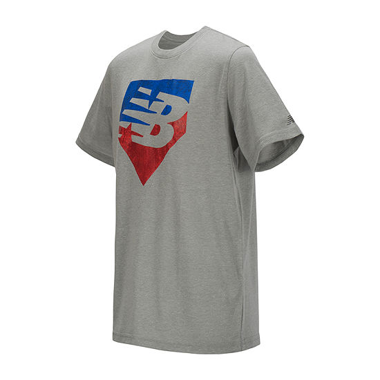 New Balance Boys Round Neck Short Sleeve Graphic T-Shirt Preschool / Big Kid